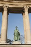 Statue of Istvan Bocskai   Millennium Monument  Hosok Tere (Heroes Square)  Budapest  Hungary