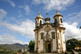 Sao Francisco de Assis Church  Ouro Preto  UNESCO World Heritage Site  Minas Gerais  Brazil
