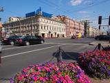 Nevsky Prospekt  St Petersburg  Russia  Europe