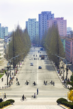 City Streets  Hamhung  Democratic People's Republic of Korea (DPRK)  North Korea  Asia