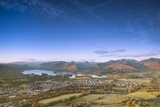 Derwentwater  Lake District National Park  Cumbria  England  United Kingdom  Europe