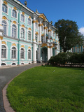 Winter Palace and Hermitage Museum  UNESCO World Heritage Site  St Petersburg  Russia  Europe