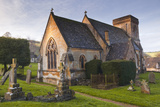 The Church of St Barnabas in the Cotswold Village of Snowshill  Gloucestershire  England  UK