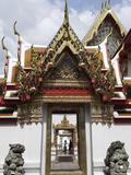 Chedi Rai Near Phra Rabieng Cloister Wat Phra Chetuphon  (Wat Po)  Bangkok  Thailand