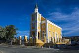 Church in Willemstad  Capital of Curacao  ABC Islands  Netherlands Antilles  Caribbean