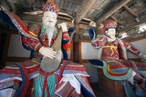 Pohyon Buddhist Temple (Pohyon-Sa)  Myohyangsan  Democratic People's Republic of Korea  N Korea