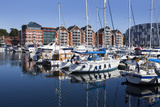 Yachts Moored at Ipswich Marina  Ipswich  Suffolk  England  United Kingdom  Europe