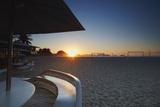 Sunrise on Copacabana Beach  Rio de Janeiro  Brazil  South America