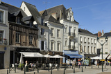 Place Michel Debre  Amboise  UNESCO World Heritage Site  Indre-Et-Loire  Centre  France  Europe