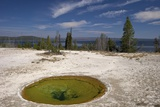 Ephedra Spring  West Thumb Geyser Basin  Yellowstone Nat'l Park  UNESCO Site  Wyoming  USA