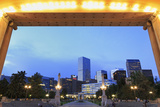 Civic Center Park and Skyline  Denver  Colorado  United States of America  North America