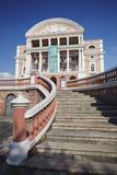 Teatro Amazonas (Opera House)  Manaus  Amazonas  Brazil  South America