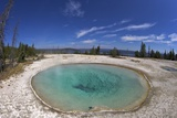 Blue Funnel Spring  West Thumb Geyser Basin  Yellowstone Nat'l Park  UNESCO Site  Wyoming  USA