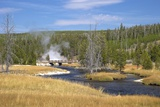 Oblong Geyser  Upper Geyser Basin  Yellowstone Nat'l Park  UNESCO World Heritage Site  Wyoming  USA