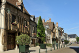 Medieval Half-Timbered Buildings  Place Michel Debre  Amboise  UNESCO Site  Indre-Et-Loire  France