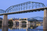 Walnut Street Bridge over the Tennessee River  Chattanooga  Tennessee  United States of America