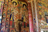 Murals in 16th Century Christian Monastery and Church of Azuwa Maryam  Zege Peninsula  Ethiopia