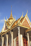 Silver Pagoda in Royal Palace  Phnom Penh  Cambodia  Indochina  Southeast Asia  Asia