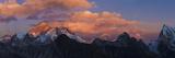 View from Gokyo Ri  Mt Everest  Mt Lhotse  Dudh Kosi Valley  Solu Khumbu (Everest) Region  Nepal