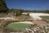 Thumb Paint Pots  West Thumb Geyser Basin  Yellowstone Nat'l Park  UNESCO Site  Wyoming  USA