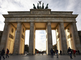 Brandenburg Gate  Berlin  Germany  Europe