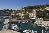 The Old Harbour at the Medieval City of Hvar  Island of Hvar  Dalmatia  Croatia  Europe