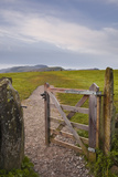The Gate Leading to Castlerigg Stone Circle in the Lake District Nat'l Park  Cumbria  England  UK