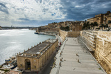 Valetta  UNESCO World Heritage Site  Malta  Mediterranean  Europe