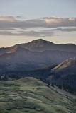 Dawn Near Stony Pass  Rio Grande National Forest; Colorado  United States of America  North America