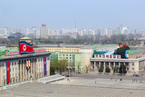 Kim Il Sung Square  Pyongyang  Democratic People's Republic of Korea   N Korea