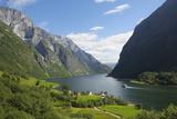 Naeroyfjorden  Near Bakka  Sogn Og Fjordane  UNESCO World Heritage Site  Norway