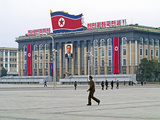 Kim Il Sung Square  Pyongyang  Democratic People's Republic of Korea (DPRK)  North Korea  Asia