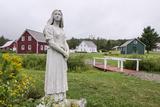 Evangeline Statue  Acadian Village  Van Buren  Maine  United States of America  North America