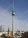 TV Tower  Berlin  Germany  Europe