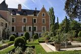 Renaissance Garden  Leonardo da Vinci's House and Museum  Clos Luce  Amboise  Loire Valley  France