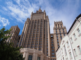 The Stalin Building  One of the Seven Sisters Buildings  Moscow  Russia  Europe