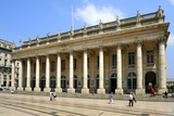Le Grand Theatre  Place de la Comedie  Bordeaux  UNESCO Site  Gironde  Aquitaine  France