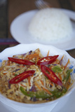 Amok Saik Moan (Chicken Amok)  Kampong Cham  Cambodia  Indochina  Southeast Asia  Asia