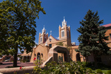 Adobe Church in Albuquerque  New Mexico  United States of America  North America