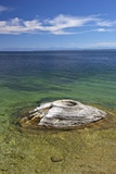 Fishing Cone  West Thumb Geyser Basin  Yellowstone Nat'l Park  UNESCO Site  Wyoming  USA