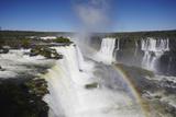 Garganta do Diablo Falls at Iguacu Falls  Iguacu Nat'l Pk  UNESCO Site  Parana  Brazil