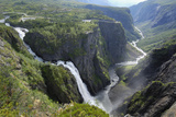 Voringfoss Waterfall  Near Eidfjord  Hordaland  Norway  Scandinavia  Europe