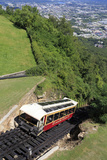 Incline Railway on Lookout Mountain  Chattanooga  Tennessee  United States of America
