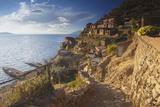 Village of Yumani on Isla del Sol (Island of the Sun)  Lake Titicaca  Bolivia  South America