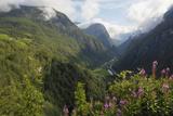 View from Stalheim  Naeroydalen Valley  Norway  Scandinavia  Europe
