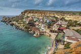 Popeye Village  Former Movie Set and Now Amusement Park  Malta  Mediterranean  Europe