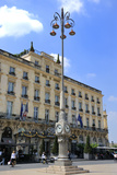 Regent Hotel Facade  Grand Hotel de Bordeaux  Bordeaux  UNESCO Site  Gironde  Aquitaine  France