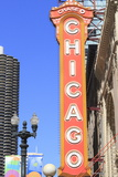 Chicago Theater  Chicago  Illinois  United States of America  North America