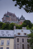 Chateau Frontenac  Quebec City  Province of Quebec  Canada  North America