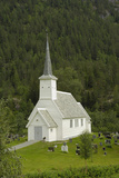 Jostedal Church  Sogn Og Fjordane  Norway  Scandinavia  Europe